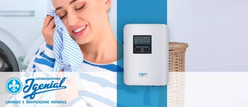 l'ozonizzatore domestico Igenial per un bucato igienizzato