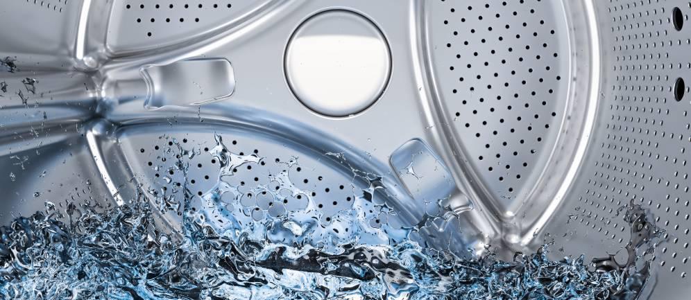 acqua ozonizzata nel lavaggio in lavatrice